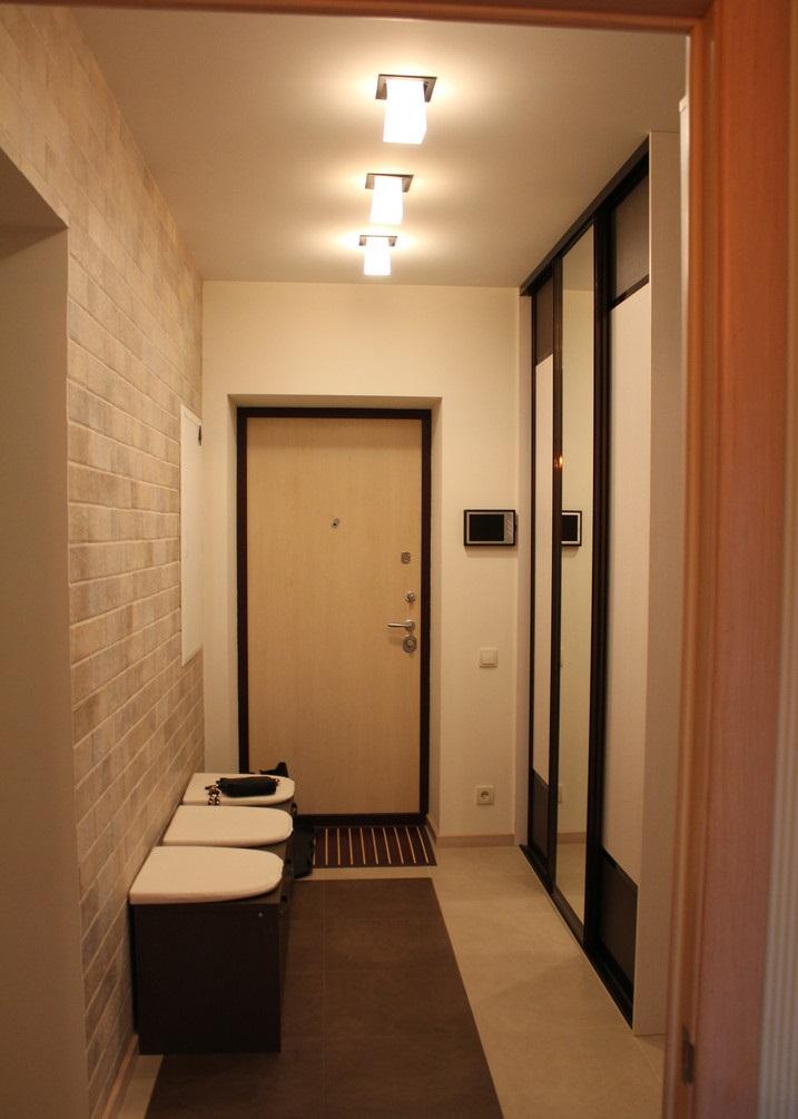 Фото дизайна маленькой прихожей и коридора