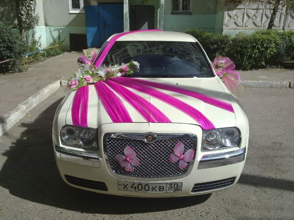Как украсить машину к свадьбе своими руками фото