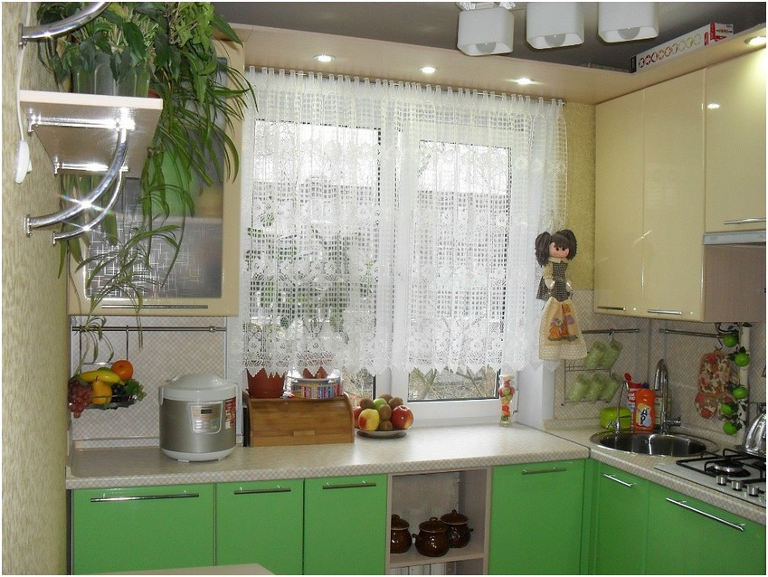 Маленькая кухня дизайн и для хрущевок