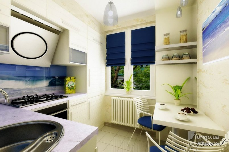 Дизайн интерьер кухни в хрущевке