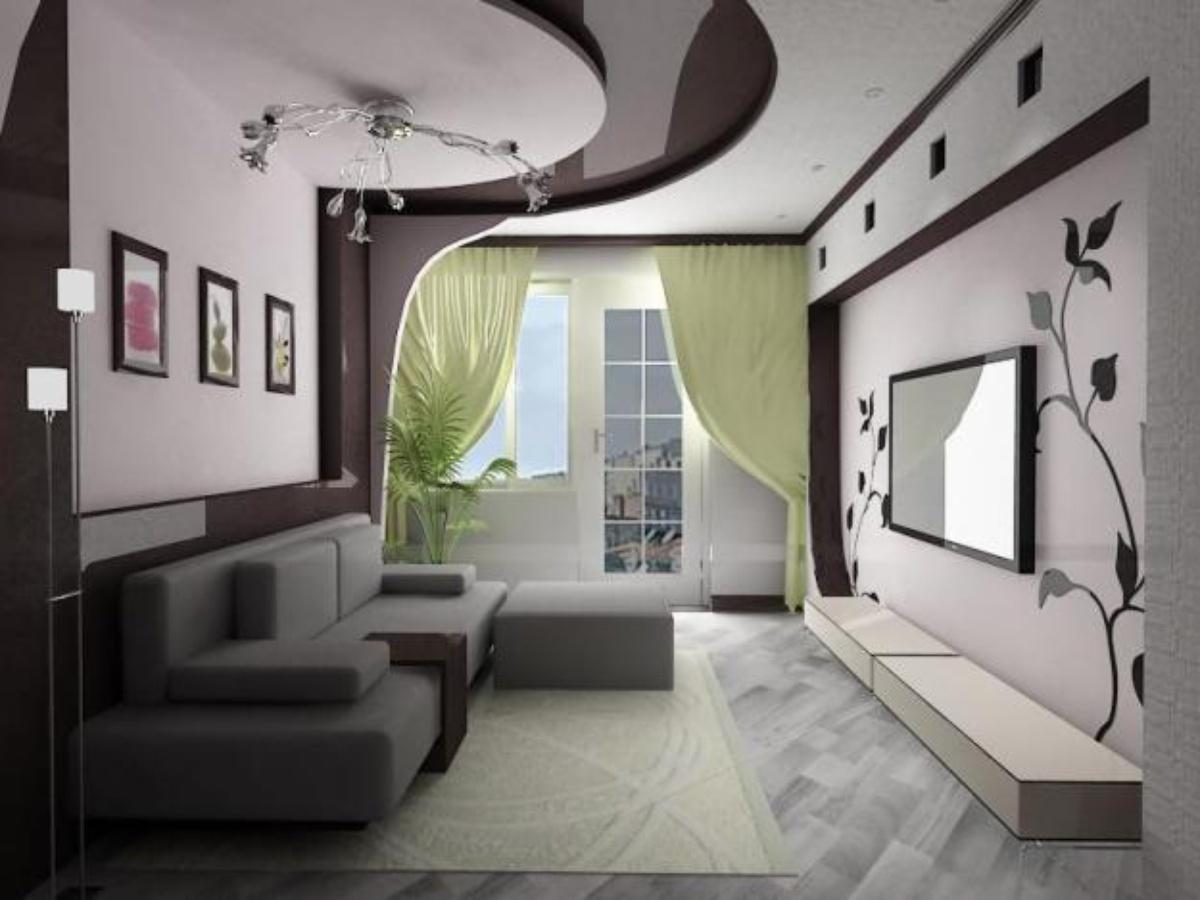 Дешевый интерьер квартиры фото