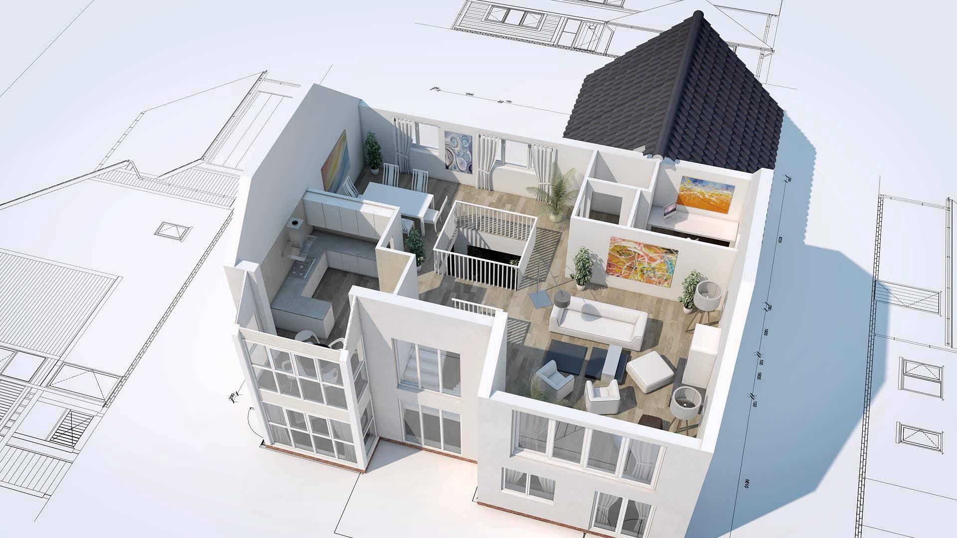 Как из фото сделать 3d модель здания