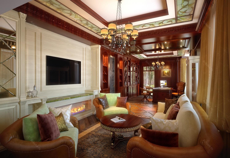 Интерьер и дизайн дома внутри