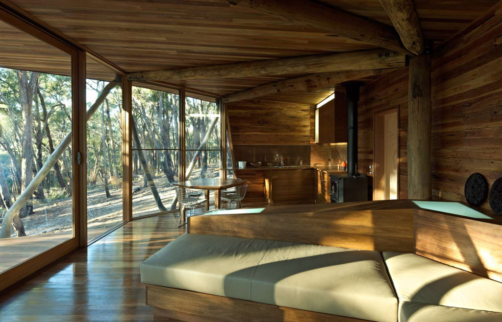Как сделать деревянный дом современным 49