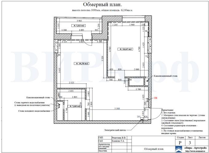 Как правильно сделать обмеры квартиры