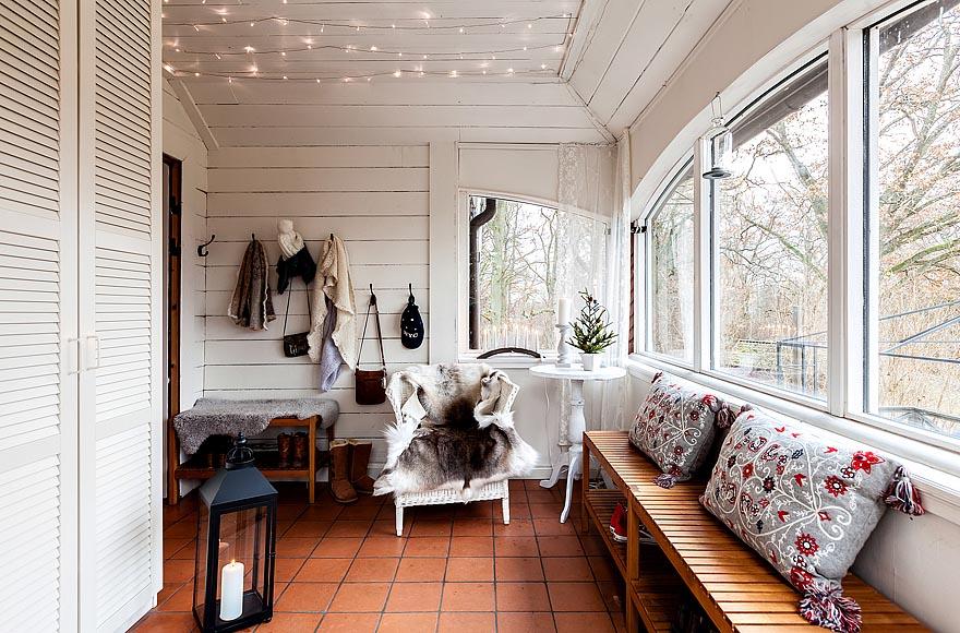 Интерьер в доме в скандинавском стиле фото