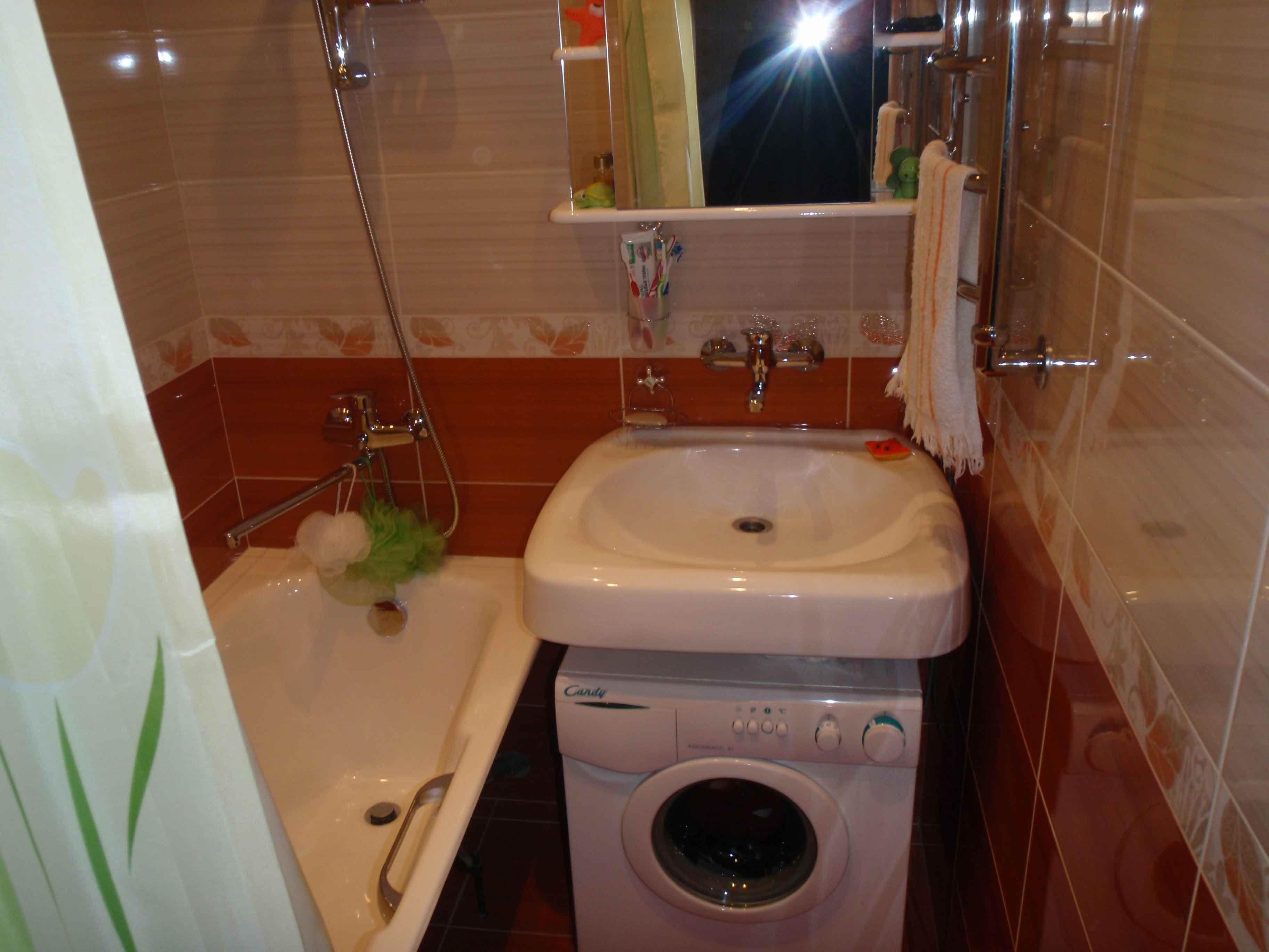Ремонт в ванной в хрущевке с