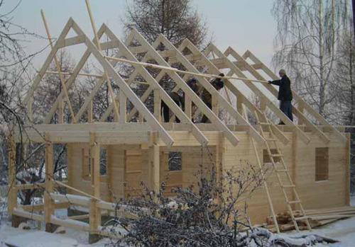 """Как правильно сделать крышу на баню """" Картинки и фотографии дизайна квартир, домов, коттеджей"""