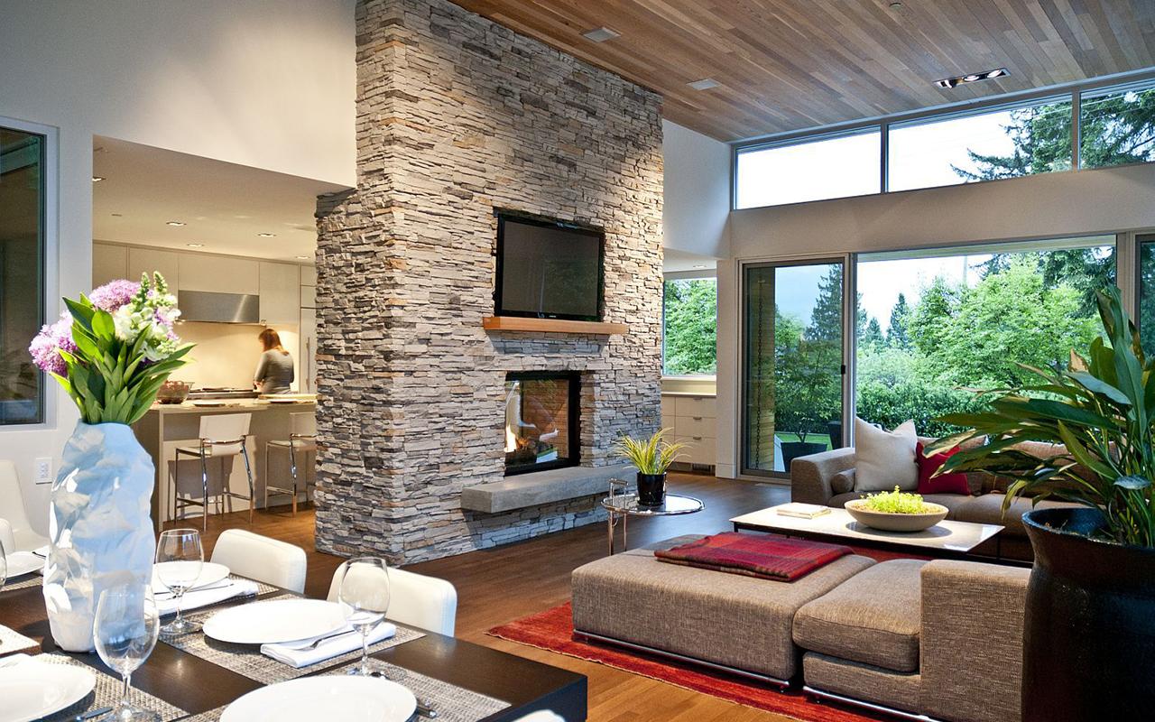 Интересные дизайны интерьеры домов