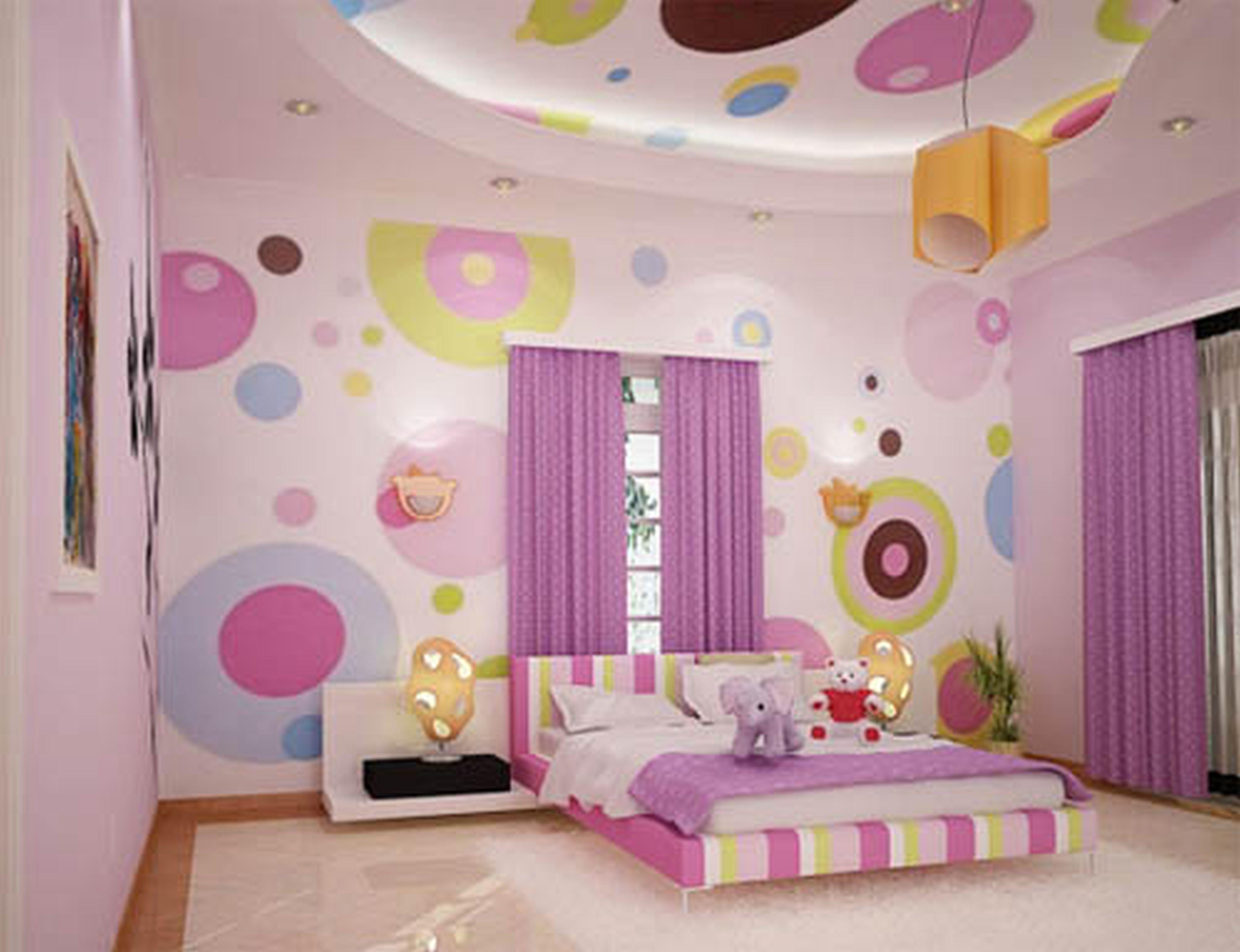 Детская комната для девочки фото интерьер
