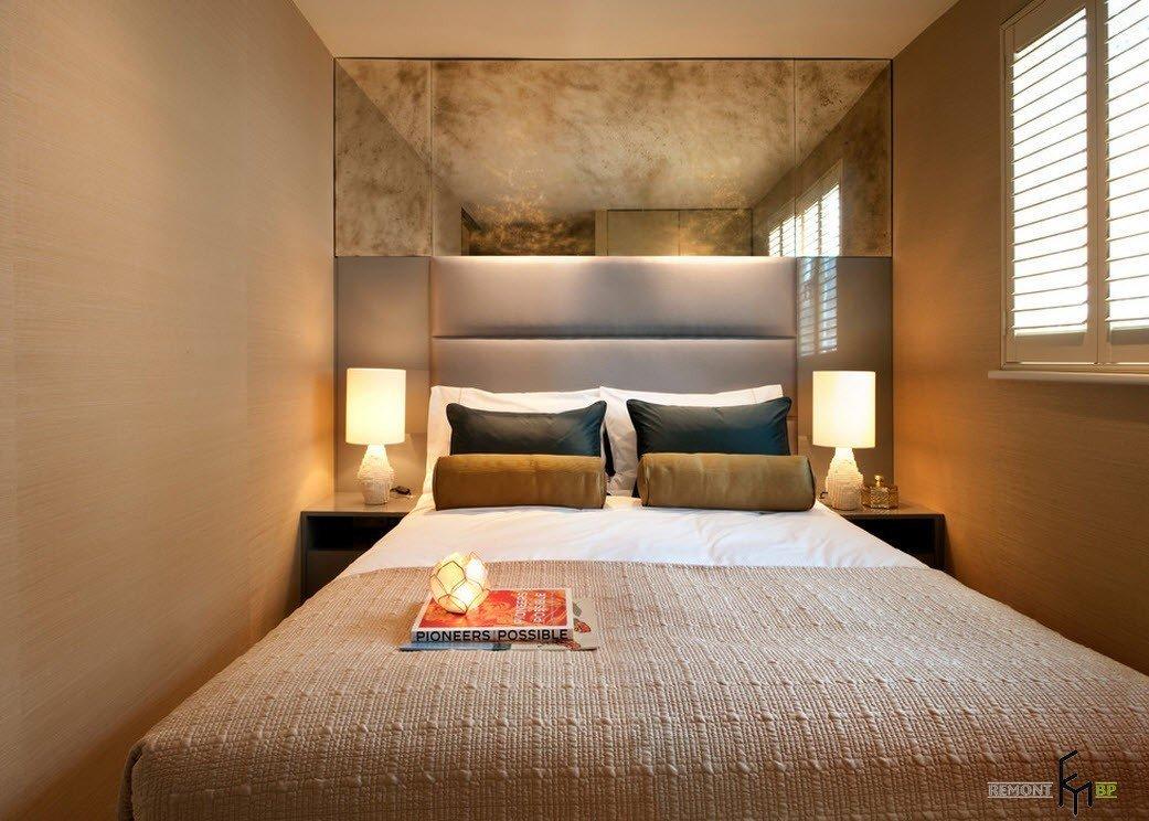 Фото дизайна мал спальни