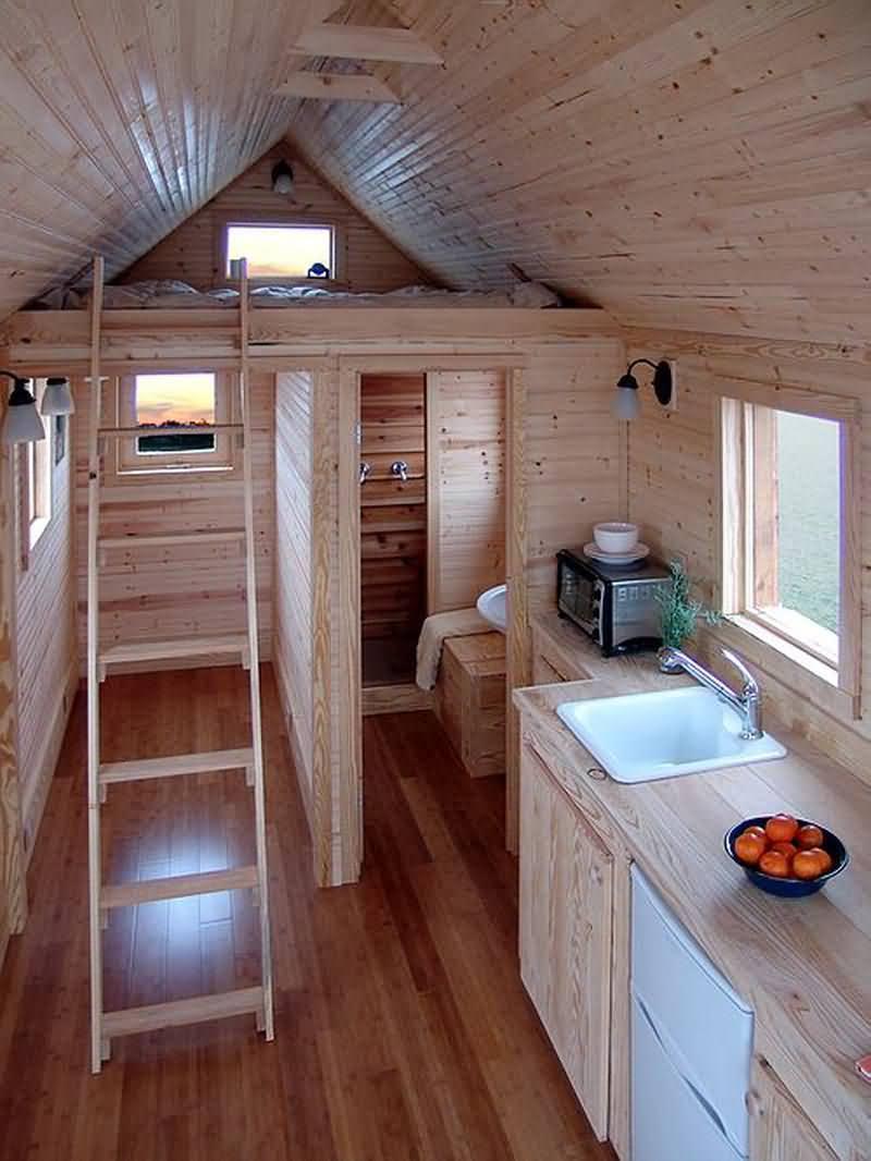 дизайн маленькой дачи внутри дома фото