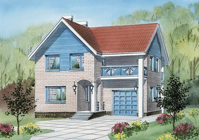 Дизайн блочных домов