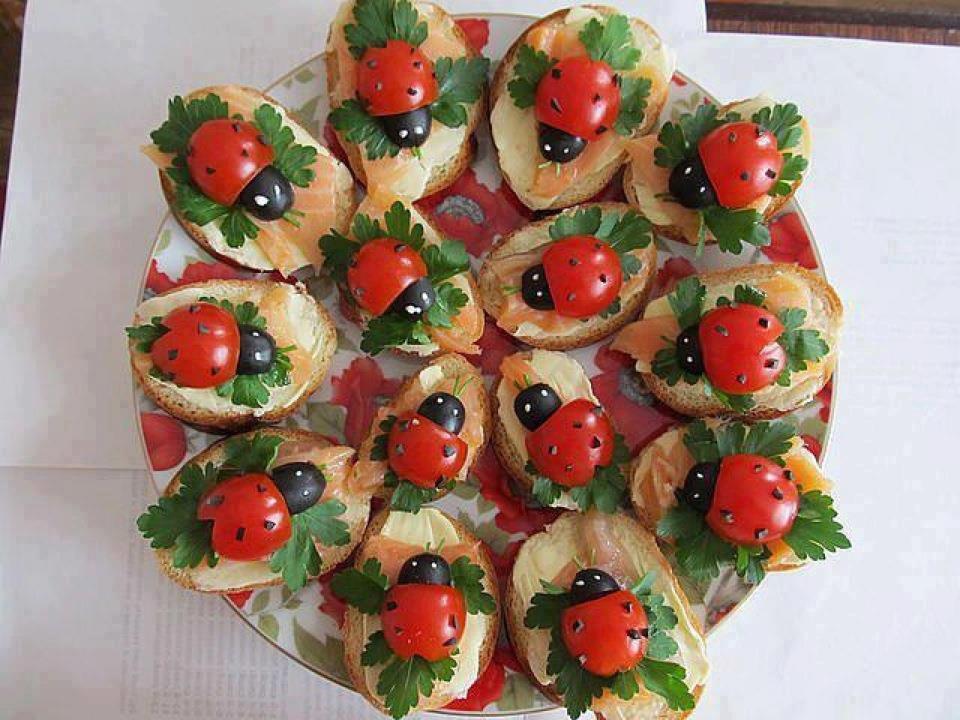 Красиво украсить салаты и закуски к праздничному столу рецепты