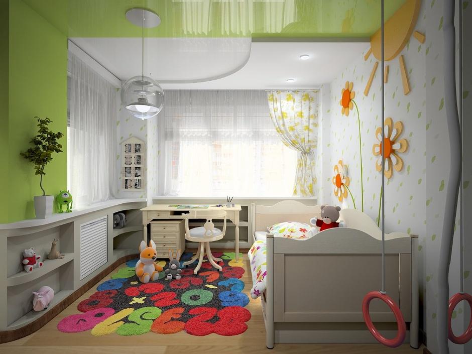Дизайн детской комнаты 18 кв м