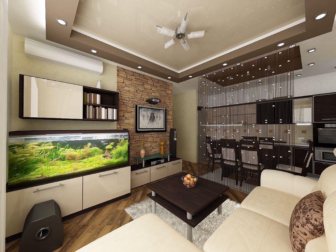 Кухни гостиные 17 квм дизайн
