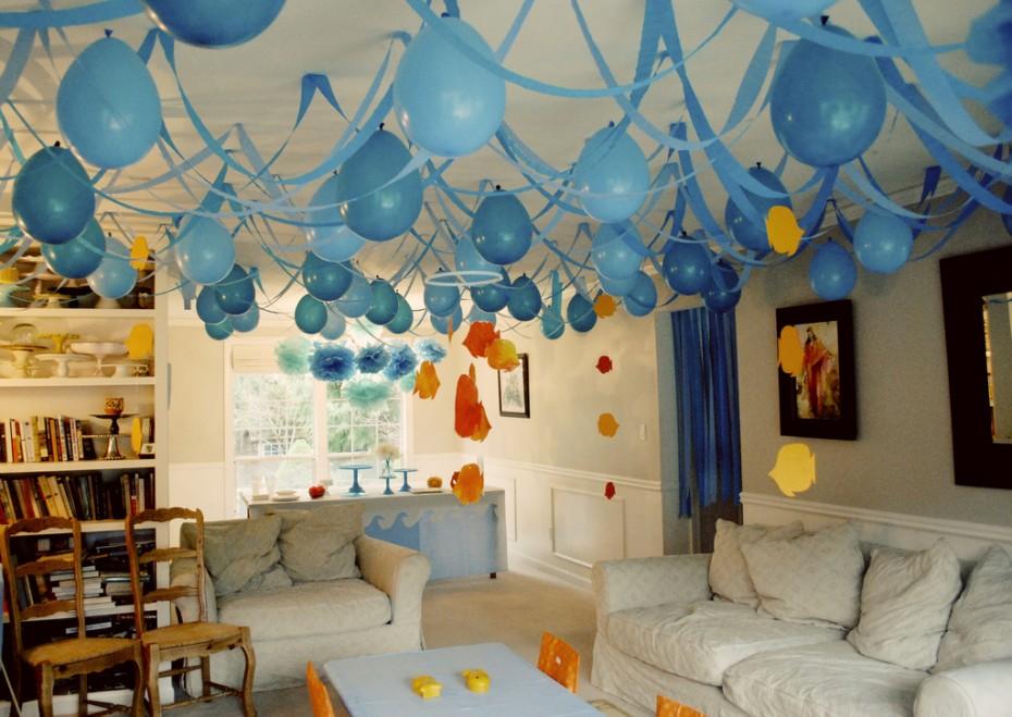 Как украсить комнату на первый день рождения сына своими руками