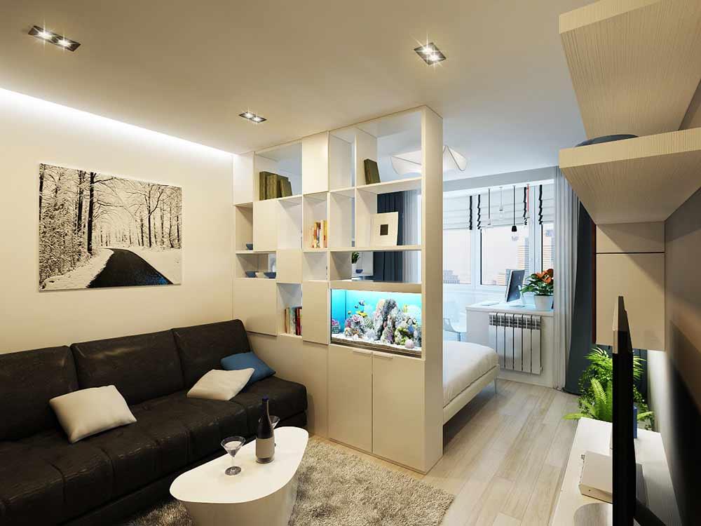 Ремонт однокомнатной квартиры 17 кв м