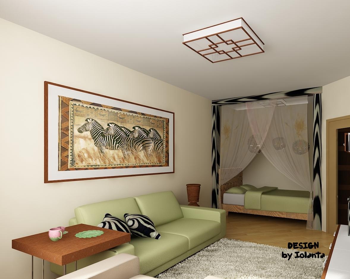 Дизайн интерьера однокомнатной квартиры с ребенком 40 кв.м фото