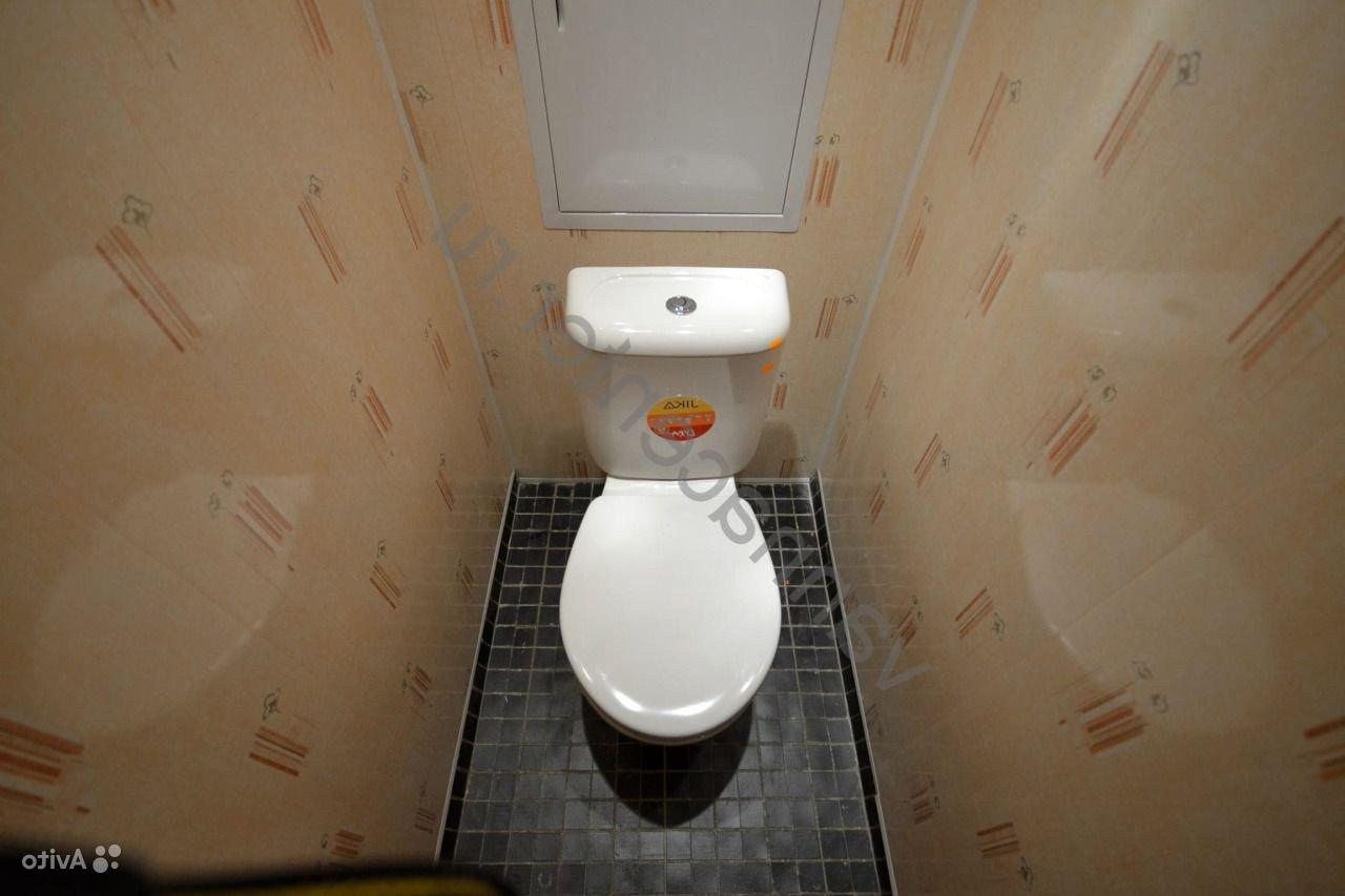 Отделка панелью туалета
