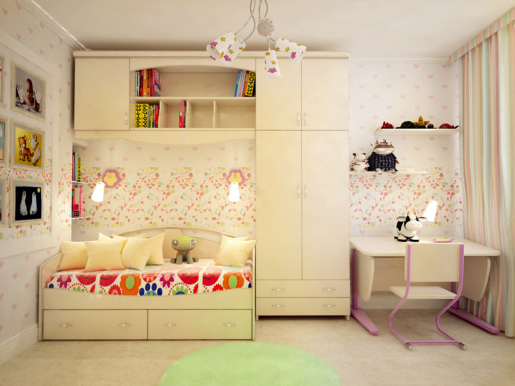 Дизайн современных детских комнат