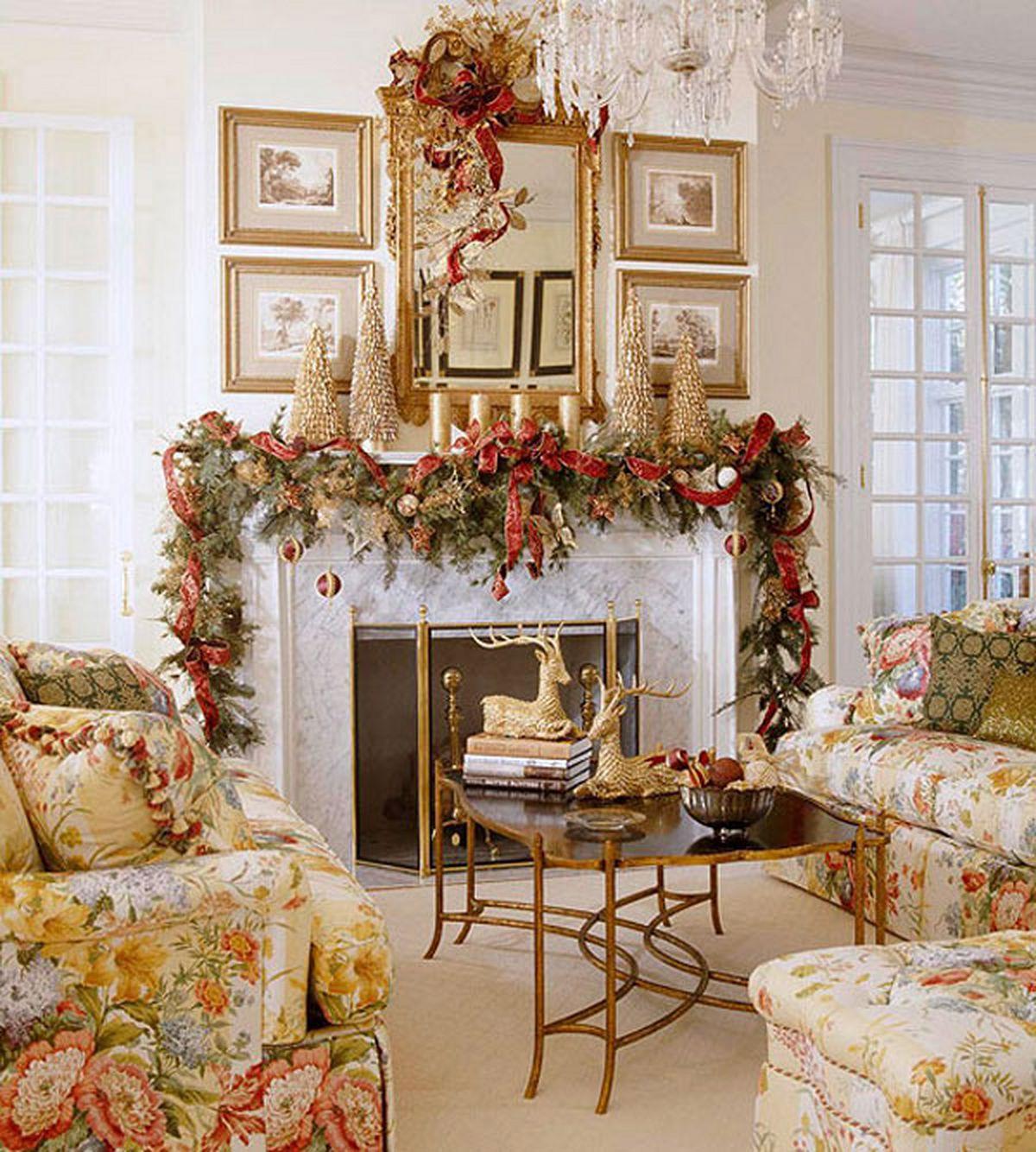 Интерьер декор к новому году