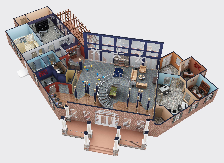 Make 3d floor plan online for Make 3d online