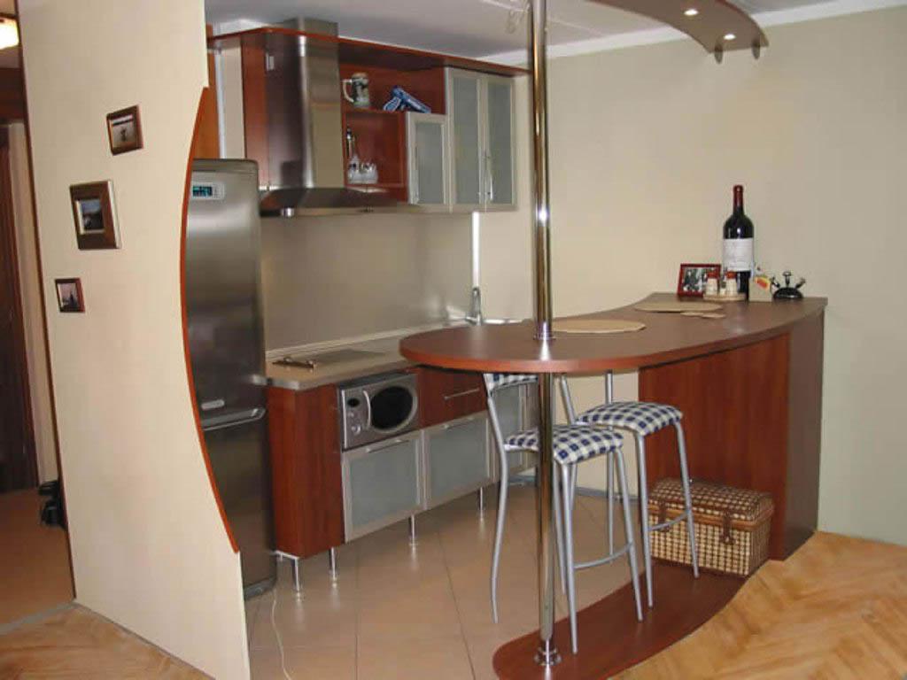 Фото дизайн кухни барные стойки