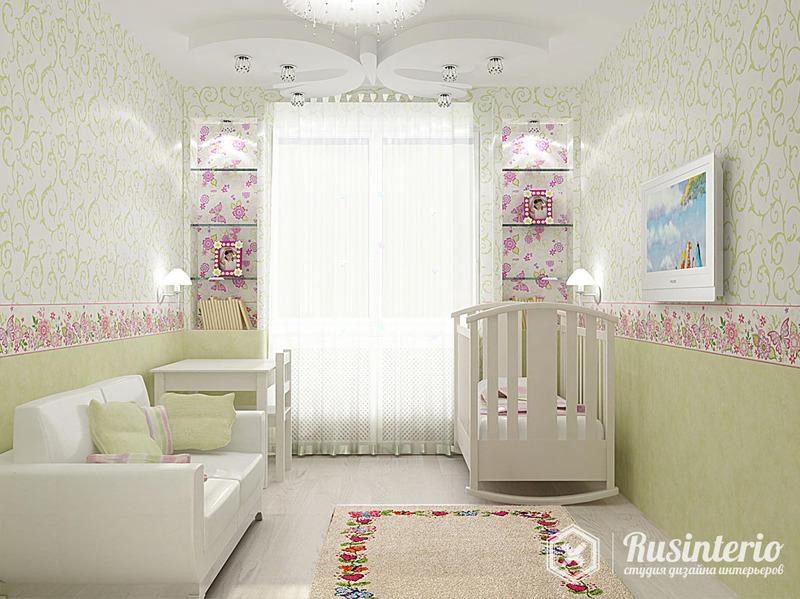 Маленькая комната дизайн для семьи с ребенком