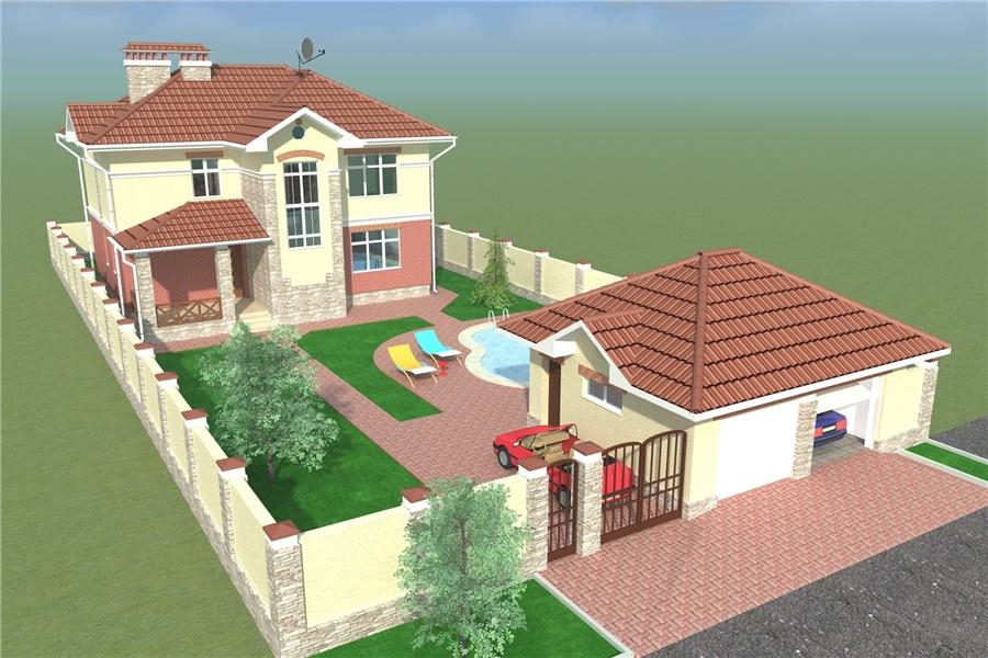 Фото дизайн и планировка двухэтажных домов