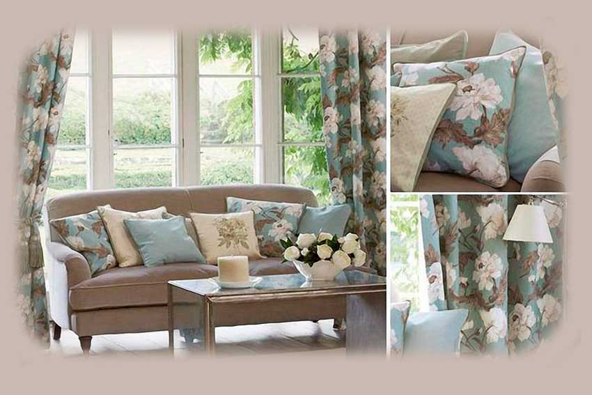 Текстильный дизайн в интерьере