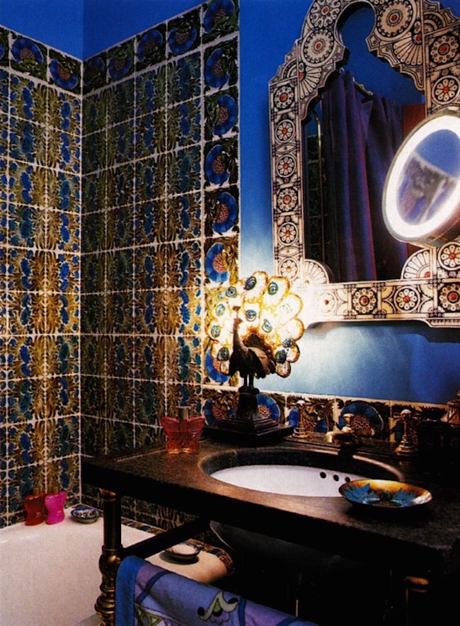 Дизайн ванной в восточном стиле