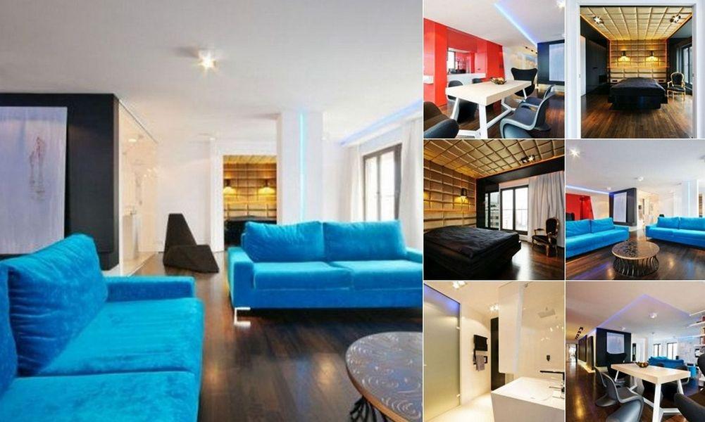 Цветовая гамма в дизайне квартир