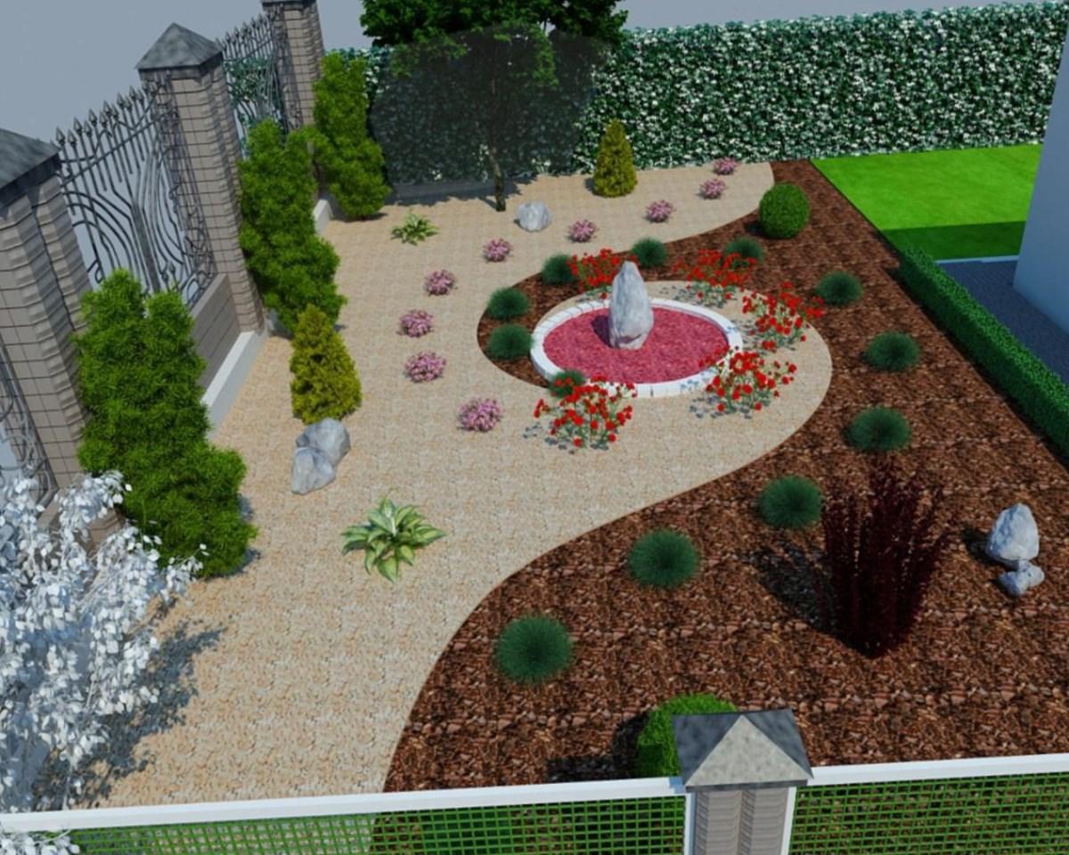 Ландшафтный дизайн дачного участка  фото 5 соток 36