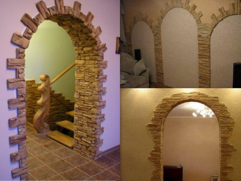фотографии декоративных арок