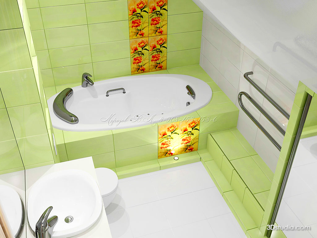 Как сделать самой дизайн ванной