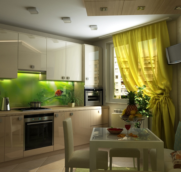 Бюджетный ремонт маленькой кухни своими руками