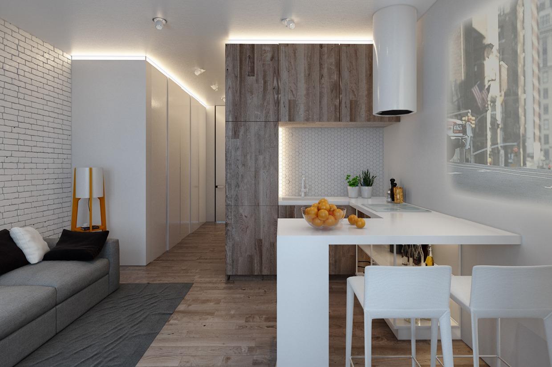 1 комнатная квартира 47 кв м дизайн