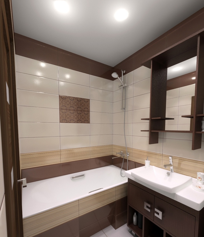 Дизайн санузла в панельном доме