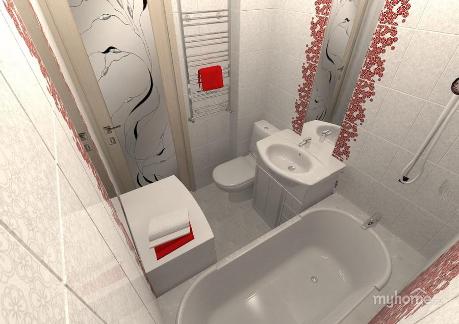 Ремонт ванной однокомнатной квартиры