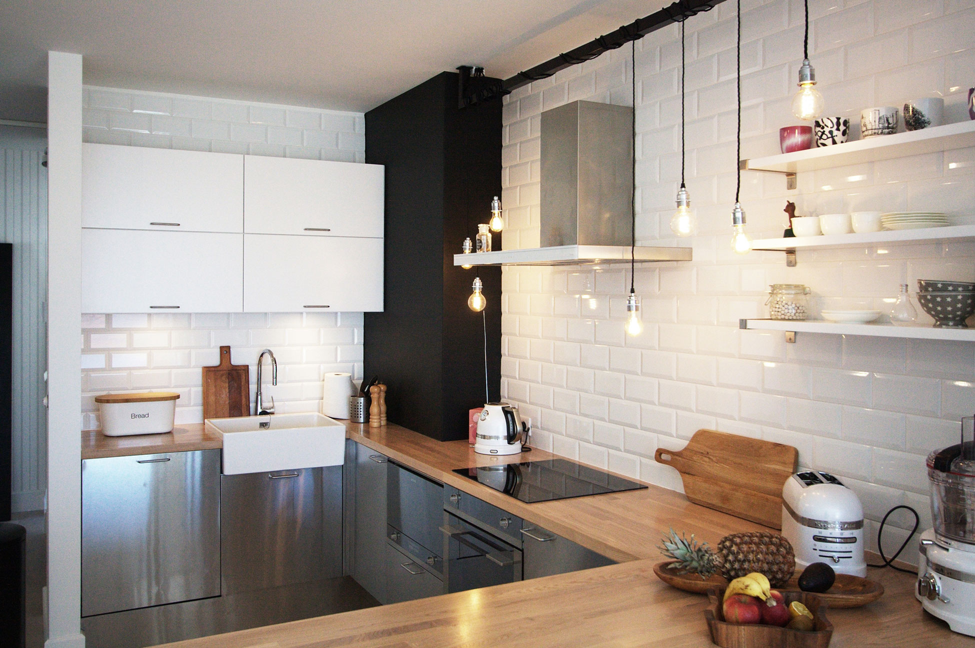Сканди стиль кухня