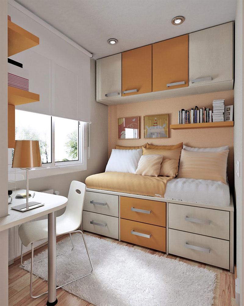 Дизайн маленькой функциональной комнаты
