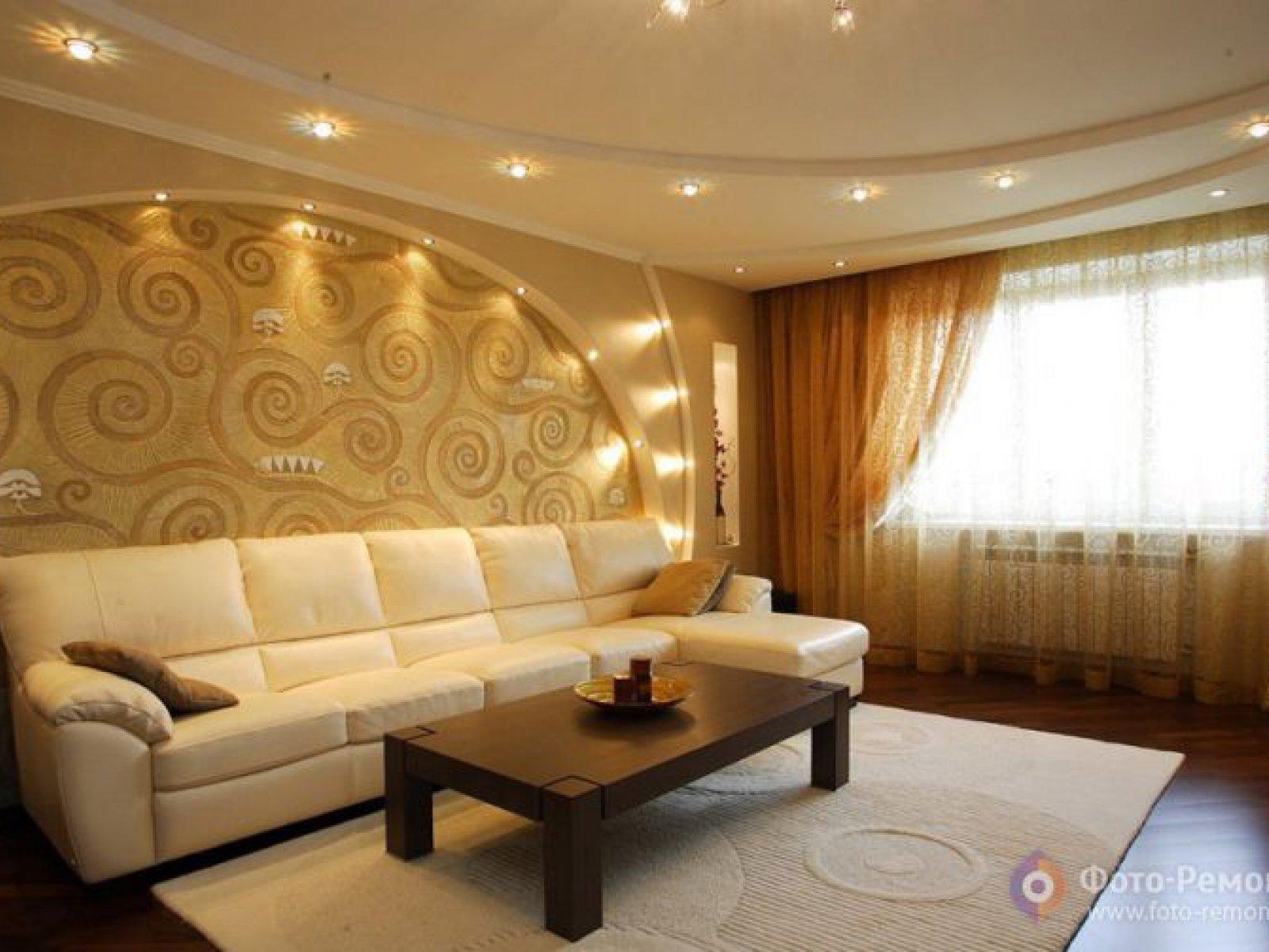 Мебель Из Гипсокартона В Гостиной Москва