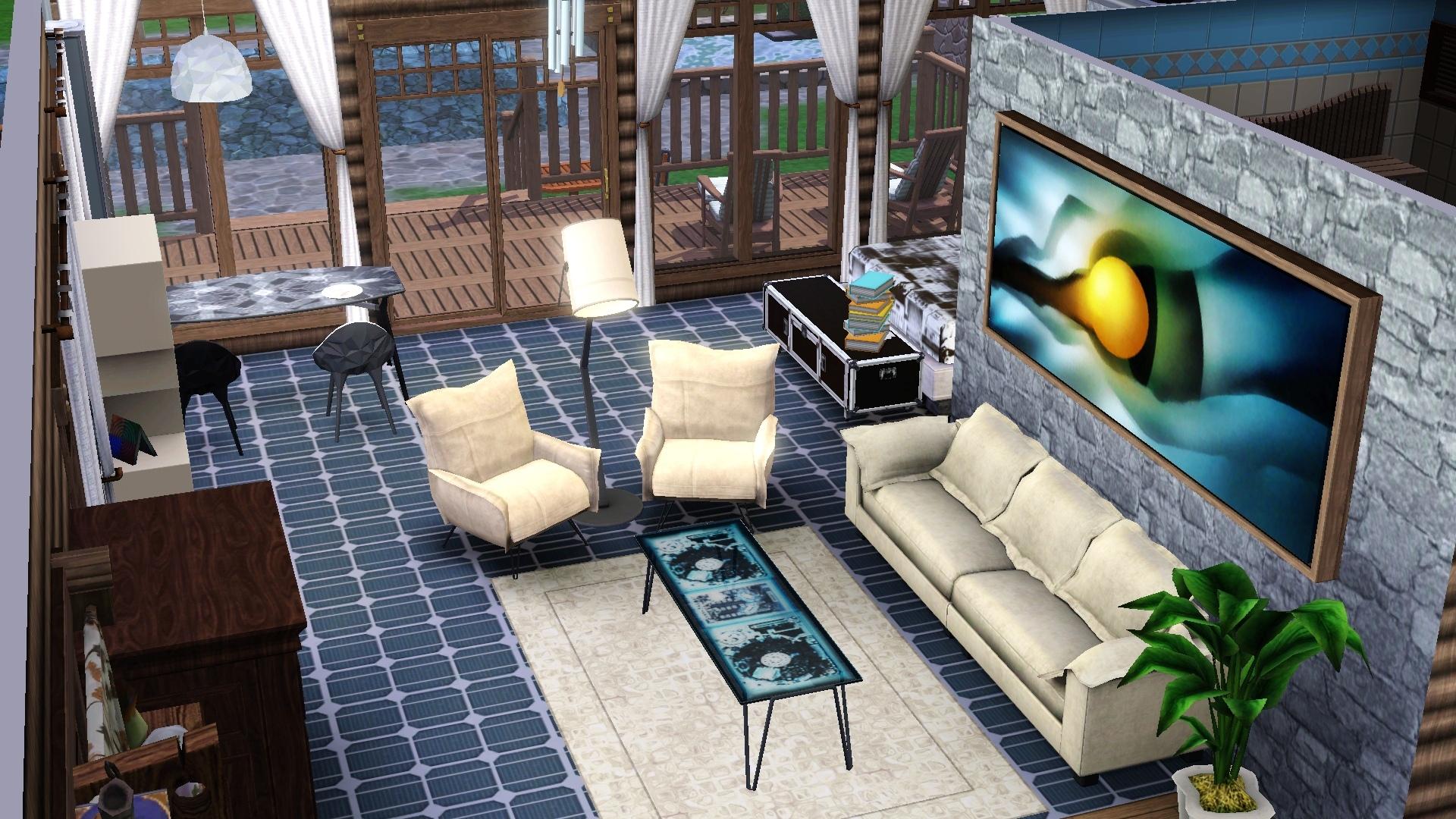 Дома и интерьер в симс 4
