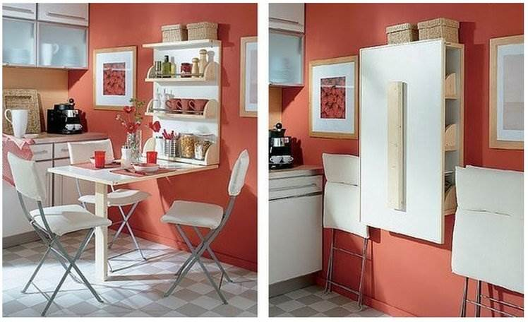 Мебель трансформер для кухни фото