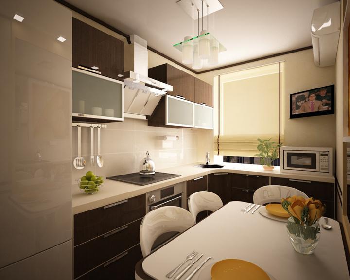 Дизайн однокомнатной квартиры 53 кв.м в современном стиле