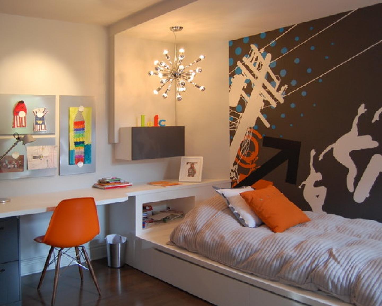 Дизайн стен своими руками для подростка