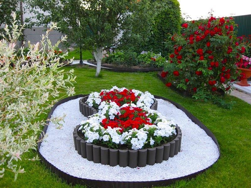 Дизайн цветочной клумбы своими руками фото - Etk-Krd.Ru