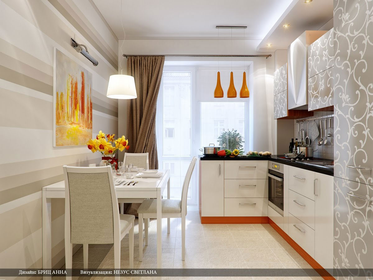 Красивые фото для интерьера кухни