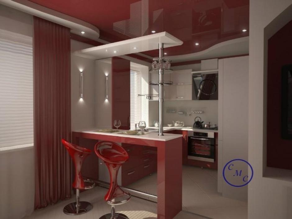 Дизайн квартиры хрущевки кухни